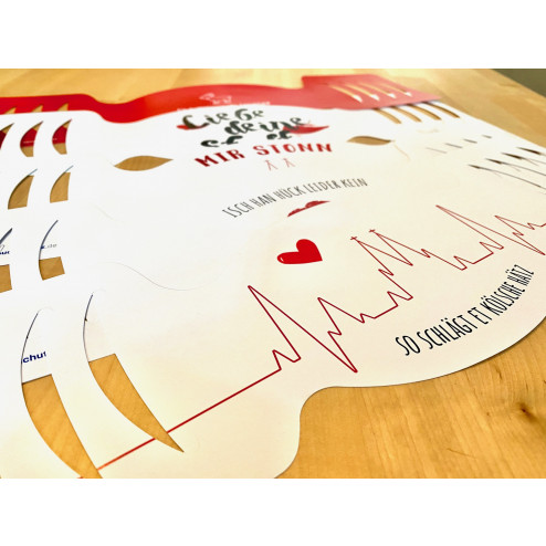 "Papier-Einwegmasken Set ""Köln Liebe"""