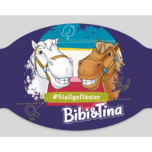 "Papier-Mundschutz - ""Bibi & Tina - Stallgeflüster"""