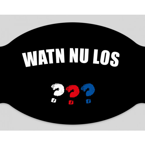 "Papier-Mundschutz - ""Watn nu los"""