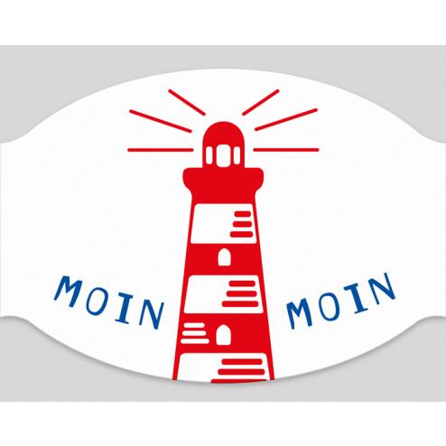 """Papier-Mundschutz - """"Moin Moin"""""""