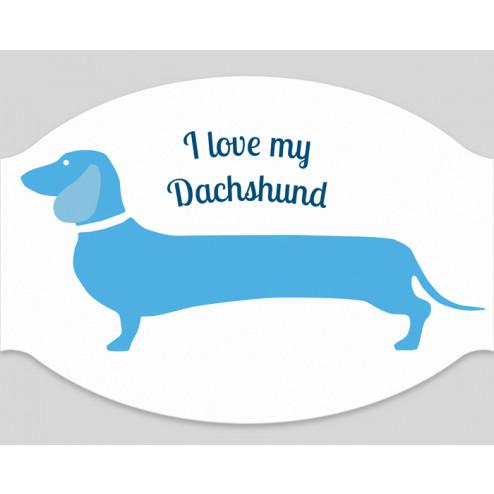 """Papier-Mundschutz - """"Dachshund"""""""