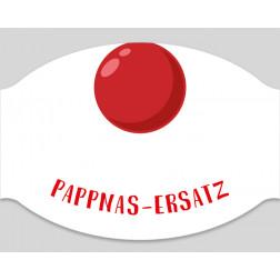 """Papier-Einwegmaske """"Pappnas Ersatz"""""""