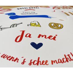 Papier-Mundschutz - Set München