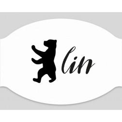 """Papier-Mundschutz - """"Bärlin"""""""